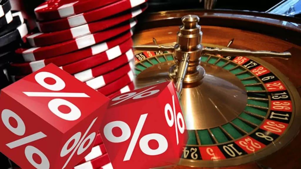 Husets fördel på casino, sportspel och lotterier