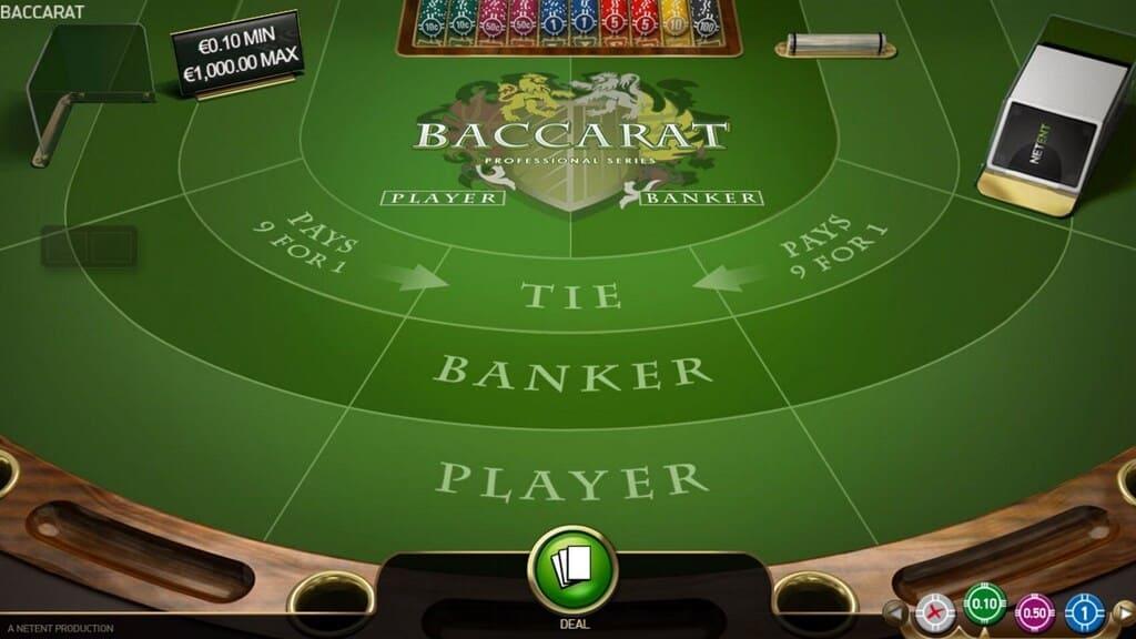 Baccarat eller punto banco